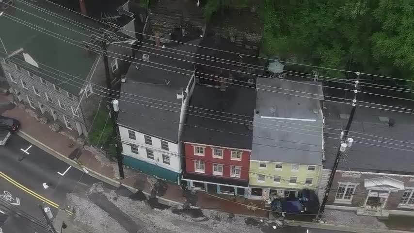 Drone Footage Reveals Ellicott City Devastation