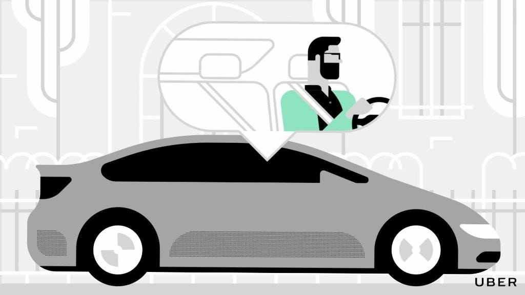 Uber emergency button and safety features
