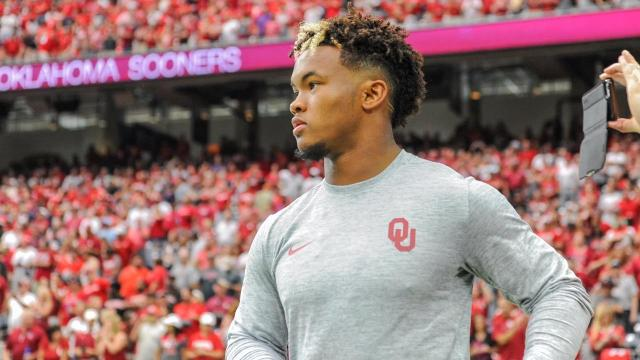 Kyler Murray, the presumptive successor to Baker Mayfield as Oklahoma quarterback, was selected by the Oakland A's with the No. 9 pick in the MLB draft Monday.