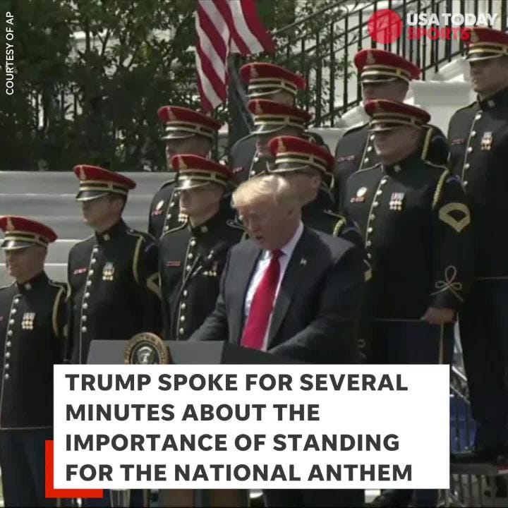 why is it important to respect the national anthem