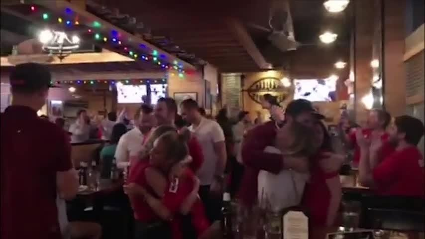 Hockey fans in Washington, D.C. had something to celebrate as the Washington Capitals won their first Stanley Cup championship in the team's 43-year history. The Caps beat the Las Vegas Golden Knights, four games to one. (June 8)