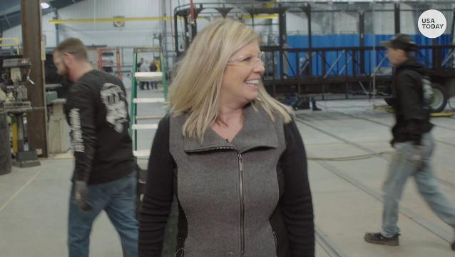 Single mom builds multimillion-dollar trolley business