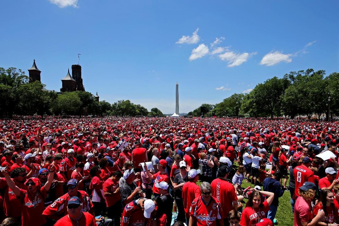 Washington is  known nationally for its politics, and the division that creates. But the Capitals' championship parade put focus on the local residents, and a city united by its team's title run.