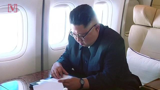 Previously unseen video of Kim Jong un for the historic summit with President Trump. Veuer's Nick Cardona has that story.