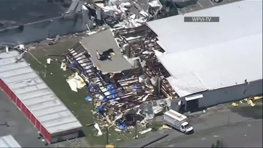 National Weather Service confirms Pa. tornado