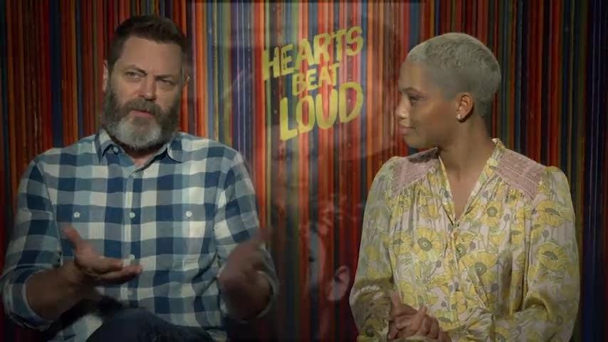 Nick Offerman shares the secrets to marriage longevity