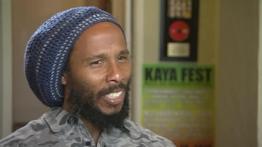 Ziggy Marley says legalized marijuana in California and elsewhere comes with a new set of responsibilities for growers and sellers of the drug. (June 15)