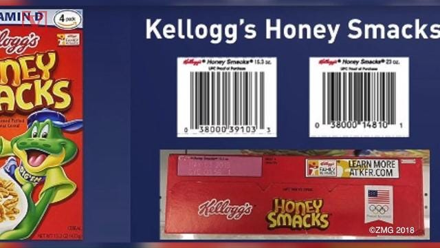 The recall of Kellogg's Honey Smacks cereal has been expanded by the Food and Drug Administration after a salmonella outbreak. Veuer's Maria Mercedes Galuppo has more.