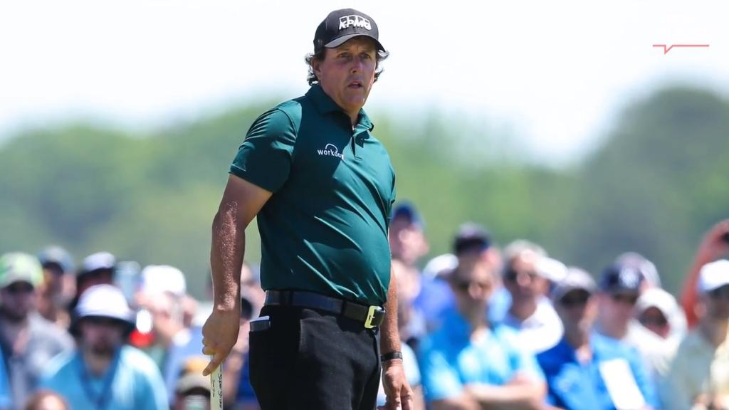 U.S. Open: Phil Mickelson, poor conditions dominate talk Saturday