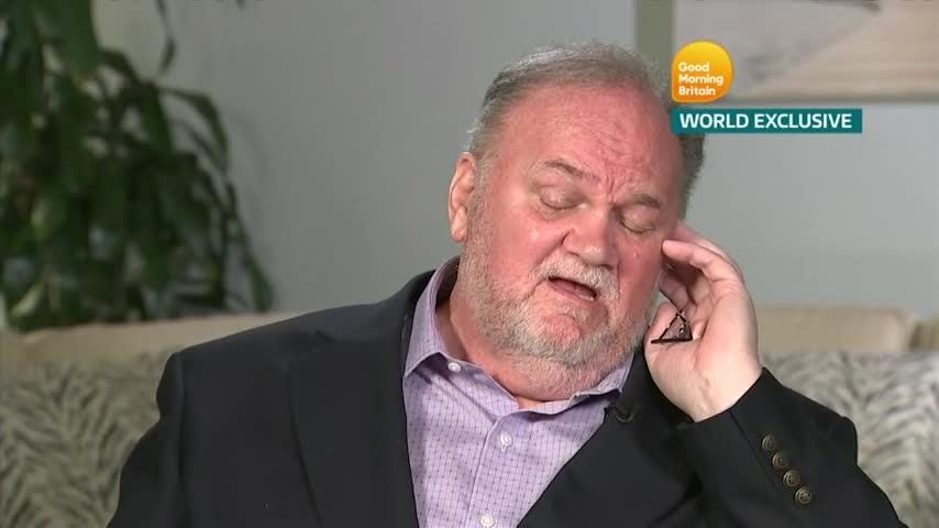 Thomas Markle shares emotional notes from estranged daughter Duchess Meghan