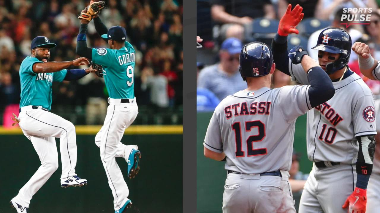 SportsPulse: MLB insider Bob Nightengale details how the AL West race is heating up between Houston and Seattle, and tries to put into perspective how historically bad Baltimore is.