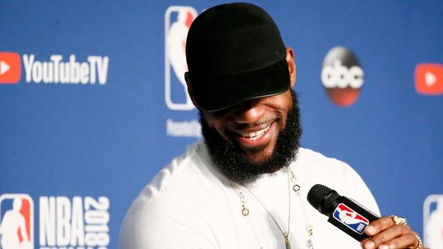 The LeBron James rumors have been swirling ever since the Cleveland Cavaliers were swept by the Golden State Warriors, but don't be surprised if James remains in his hometown.