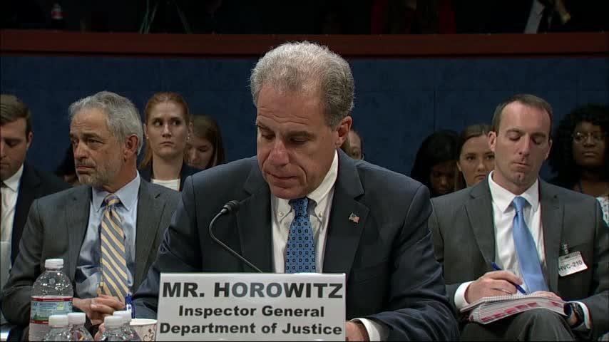 House Dems, GOP battle over IG's FBI report