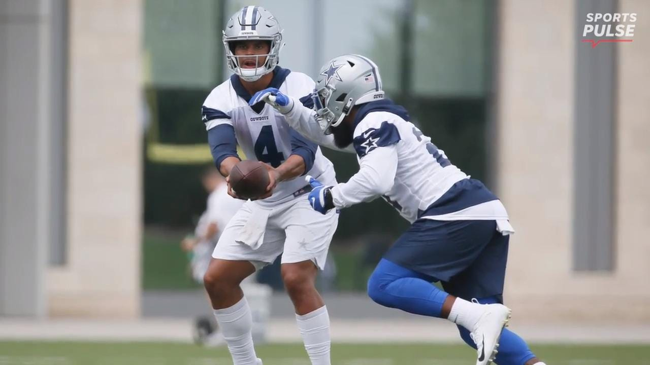 SportsPulse: Dak Prescott explains why he doesn't consider last season to be a 'sophomore slump' and thinks the Dallas Cowboys offense this year could shock some people.