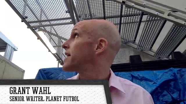 Co-host of Planet Futbol Grant Wahl Skypes in from Russia to talk about the lack of dominating play from the big nations