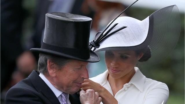 Duchess Markle joined husband Prince Harry, Queen Elizabeth and more of the royal family on Tuesday, June 19 for the Royal Ascot, a classy horse racing event.