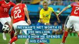 Neymar's net worth is $90 million. Here's how he spends his cash.