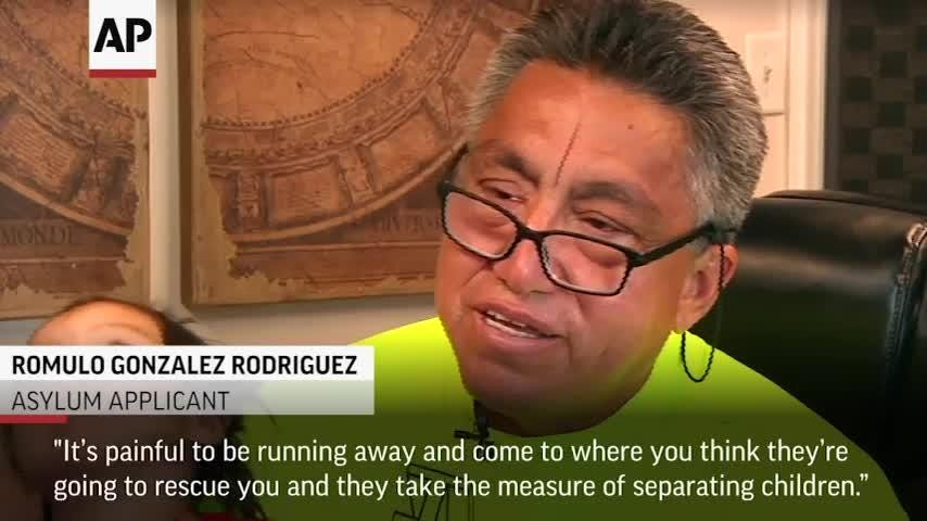 Romulo Gonzalez Rodriguez survived a kidnapping in his native Guatemala, only to be separated from his then two-year-old daughter by U.S. officials at the border with Mexico. Now reunited with is daughter, he hopes for asylum in the U.S. (June 20)