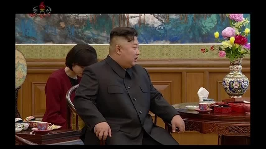 North Korea's Kim Jong Un visits China