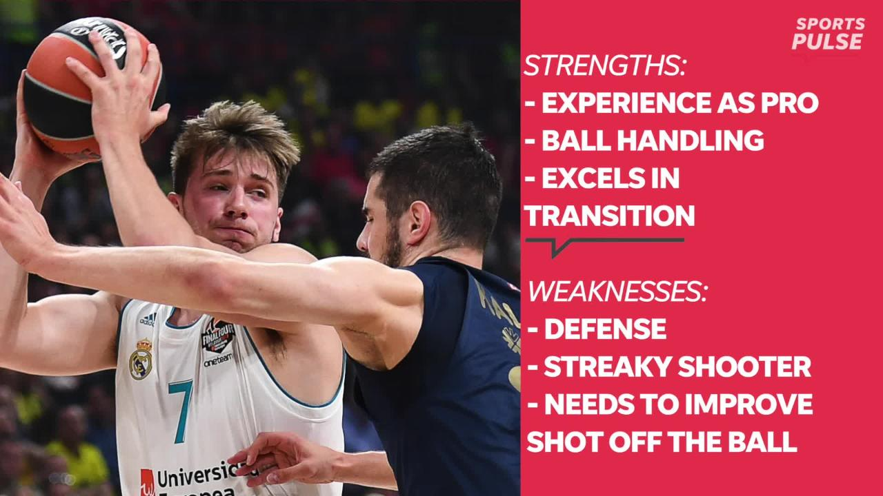 SportsPulse: Here's everything you need to know about the Dallas Mavericks newest player, guard Luka Doncic.