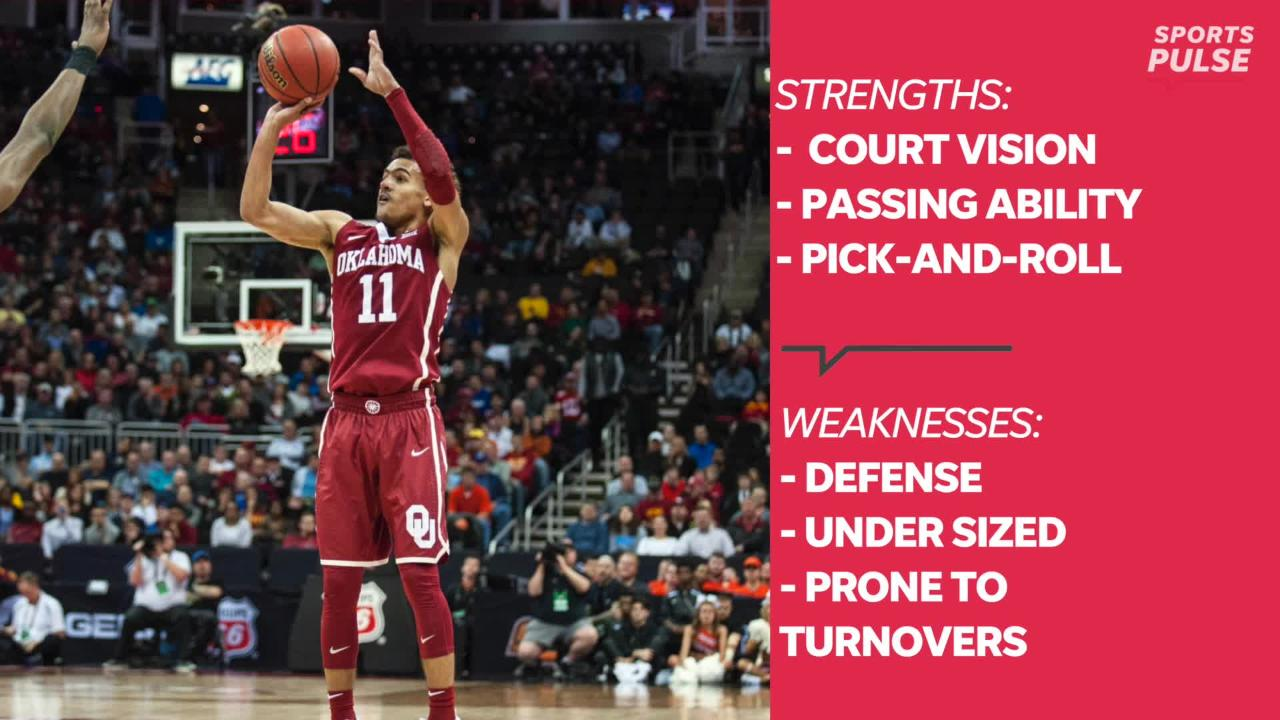 SportsPulse: Here's everything you need to know about the Atlanta Hawks' new weapon, Oklahoma guard Trae Young.