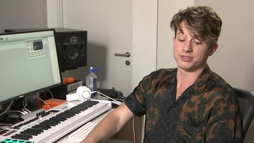 Charlie Puth sets a high bar for upcoming tour