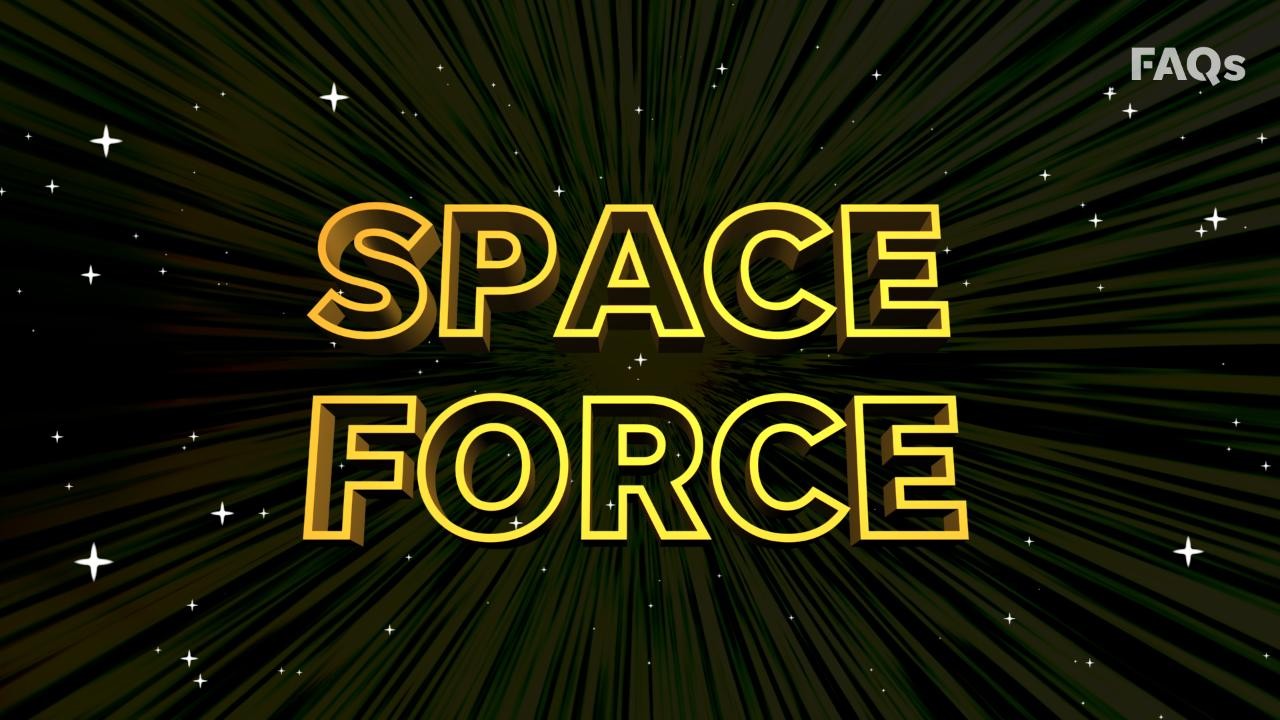 Pentagon plans to launch Trump's Space Force as a separate armed service