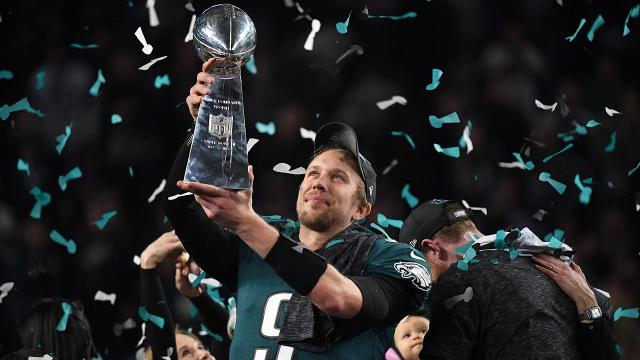 Super Bowl LII MVP Nick Foles shares his thoughts on The White House's decision to disinvite the Philadelphia Eagles.