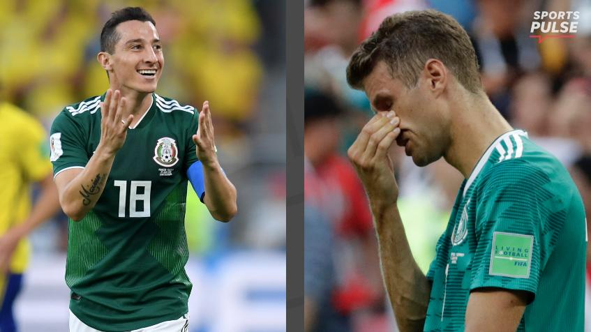 SportsPulse: USA TODAY Sports' Martin Rogers puts into perspective Germany's epic collapse and Mexico's chances in the round of 16.
