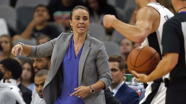 Spurs promote Becky Hammon to top assistant