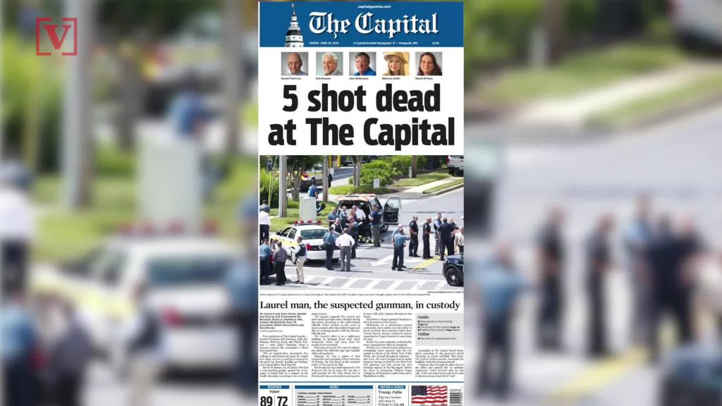 """""""Speechless"""": Capital Gazette opinion page left blank after shooting"""