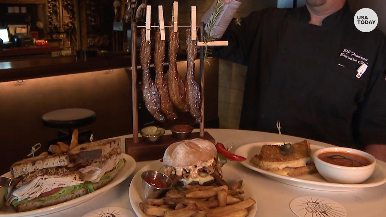 Bacon On A Clothesline Unique Artifacts At Disney S New Restaurant