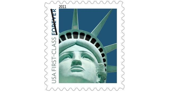 This Lady Liberty Stamp Is Not What