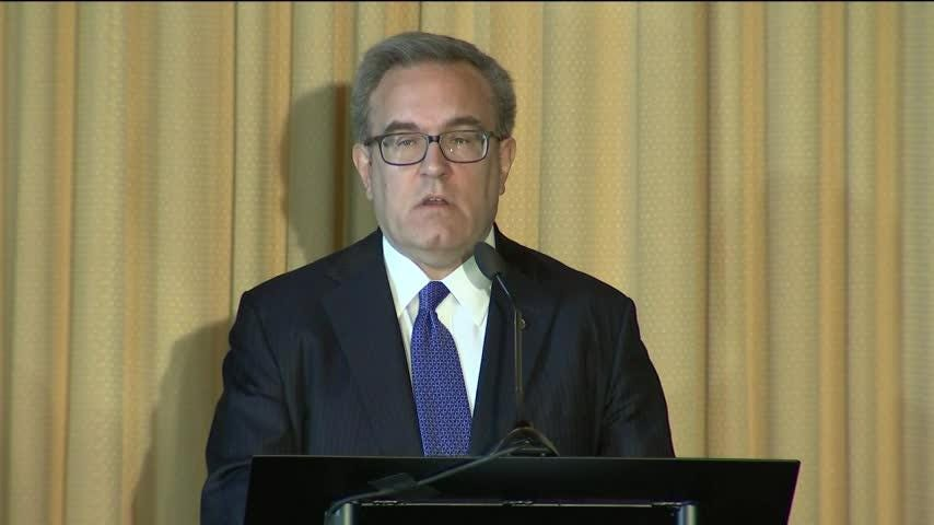 President Trump to nominate former coal lobbyist Andrew Wheeler as head of Environmental Protection Agency