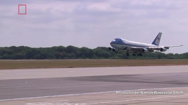 President Trump reportedly wants to overhaul the look of Air Force One with a paint job. Nathan Rousseau Smith has the details.