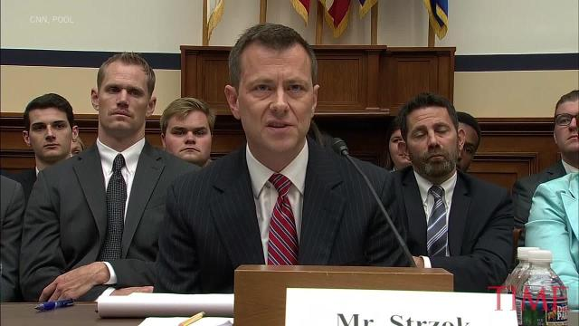 FBI agent Peter Strzok pushes back hard on suggestion that his personal political beliefs influenced his handling of investigative duties.