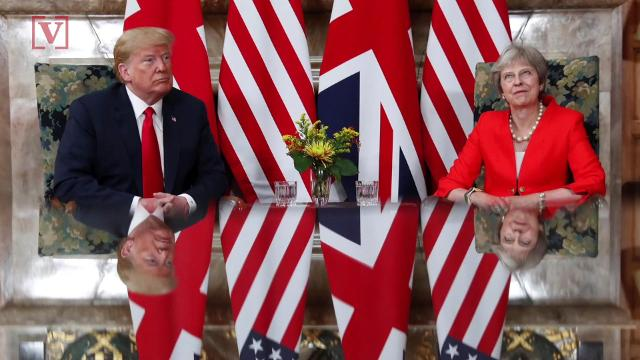 President Trump unleashing on British Prime Minister Theresa May in an explosive interview with The Sun. Veuer's Nick Cardona has that story.