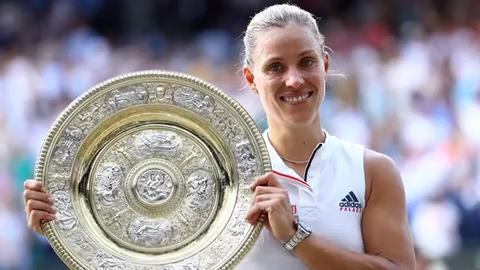 Angelique Kerber knocked off Serena Williams in straight sets to capture her third career Grand Slam title.