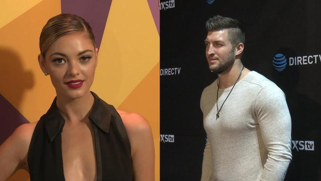 Tim Tebow and Demi-Leigh Nel-Peters are dating