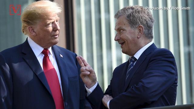 Trump hits media, the Obama administration ahead of Putin summit
