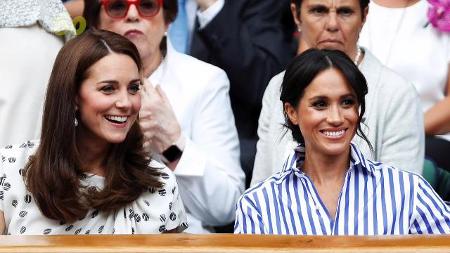 No need to wonder whether or not Kate Middleton and Meghan Markle are actually friends, a body language expert analyzed them. Keri Lumm reports.
