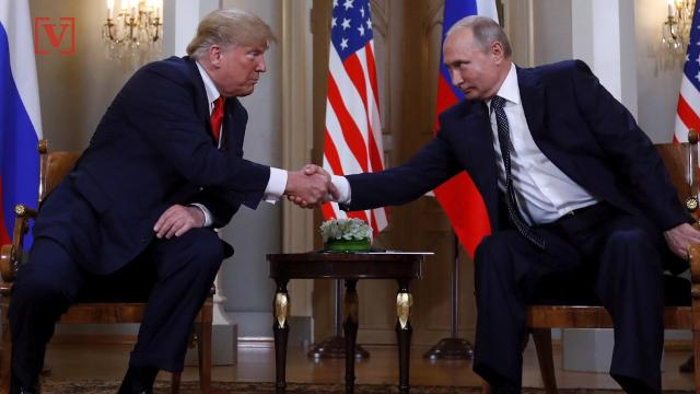 Vladimir Putin had a gift for Donald Trump during their much anticipated meeting - a soccer ball that had been used in the World Cup finale. Some worry it could be bugged.