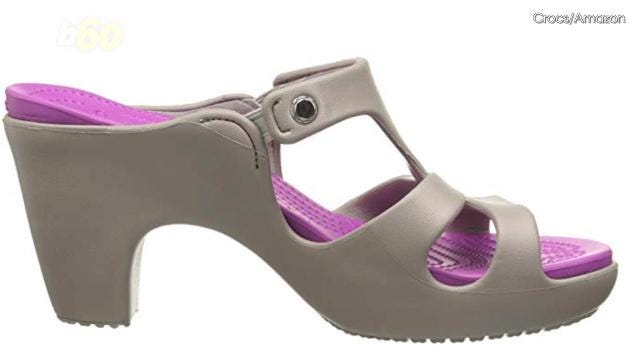 290df5d0cbfc High-heels Crocs  Twitter in a tizzy over new version of plastic shoes