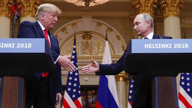 A new NBC News/SurveyMonkey poll finds 68% consider Russia either unfriendly or an enemy of the United States. despite President Trump's best efforts to improve relations. Nathan Rousseau Smith has the story.
