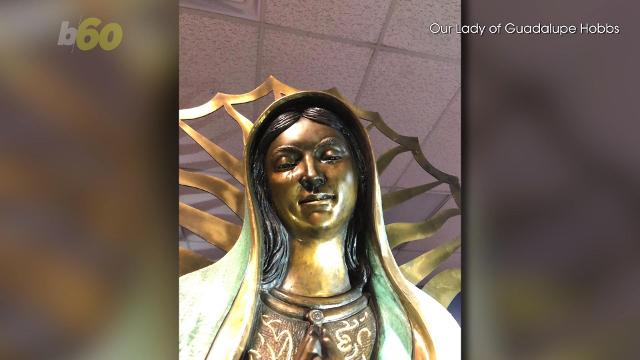Virgin Mary statue appears to 'weep' olive oil tears that smell like roses