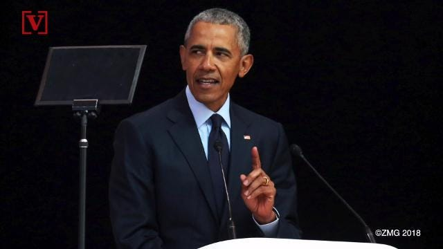 Obama encourages women to get more involved in politics