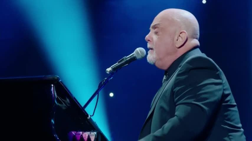 "Piano Man Billy Joel plays his 100th show at New York's Madison Square Garden, says achievement is ""beyond my wildest expectations."" (July 19)"