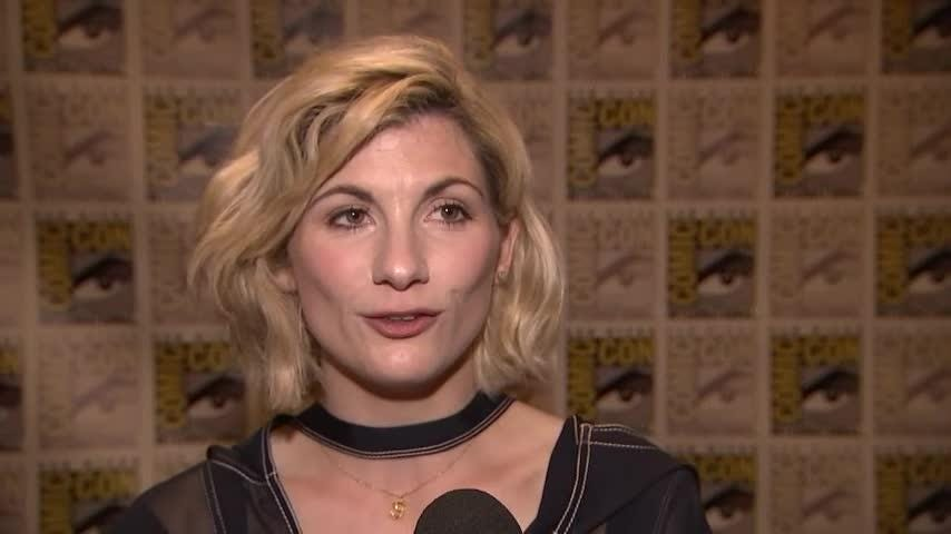 "The first female ""Doctor Who"" made her first public appearance at Comic-Con. Jodie Whittaker has joined the long-running series as the 13th person in the role. (July 19)"