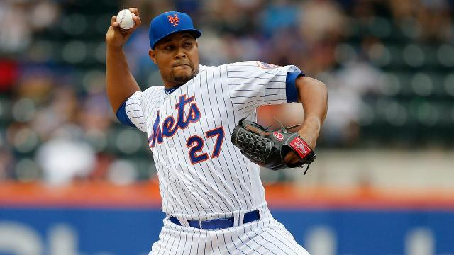 The New York Mets have traded closer Jeurys Familia to Oakland in exchange for a pair of prospects.
