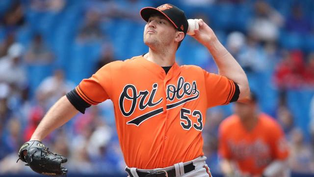 Orioles closer Zach Britton is headed to the Yankees in exchange for three prospects, pending physicals, after the two teams agreed to a deal Tuesday.